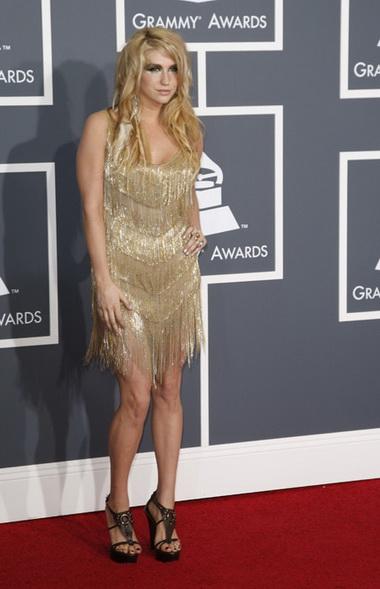 Kesha на вручении премии Grammy